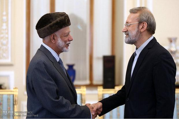 Laricani-Yusuf bin Alevi görüşmesinden kareler