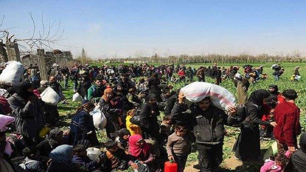 خروج أكثر من 5 آلاف مدني من الغوطة الشرقية صباح اليوم