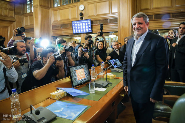 Hashemi re-elected to head of Tehran City Council