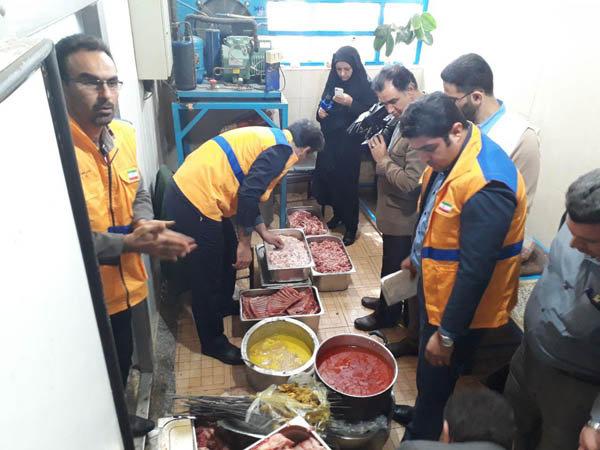 ۱۷ مرکز عرضه مواد غذایی متخلف و غیربهداشتی در استان بوشهر پلمب شد