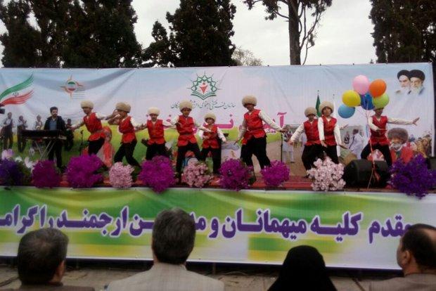نخستین جشنواره نوروز خوانی در ۵ منطقه گرگان برگزار شد