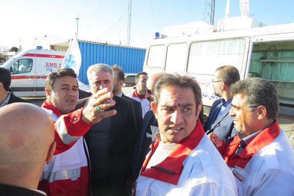 نیروهای امدادی استان قزوین فعال و پرانرژی است