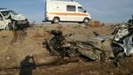 تصادف در بدره ایلام ۲ کشته و زخمی برجای گذاشت