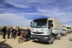 خروج الدفعة الثالثة من مسلحي جنوب الغوطة الشرقية إلى إدلب