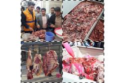 کشف و ضبط بیش از یک تن گوشت غیرمجاز از کبابیهای کرمانشاه