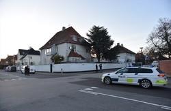 هجوم بالقنابل على السفارة التركية في الدنمارك