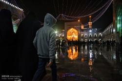 حرم امام رضا (ع) در آستانه سال نو