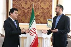 Iran's Amir-Abdollahian meets with Syrian amb. to Tehran