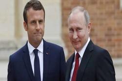 ماکرون بر گفتگوی سازنده میان روسیه و اروپا تاکید کرد