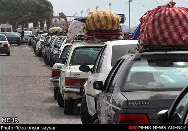 ورود یک میلیون و ۶۳۴ هزار مسافر به خراسان رضوی در تعطیلات خرداد