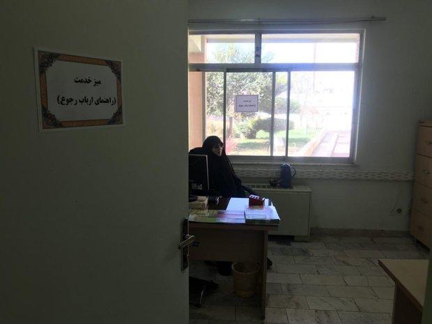 میز خدمت در سازمان جهاد کشاورزی استان قزوین راه اندازی شد