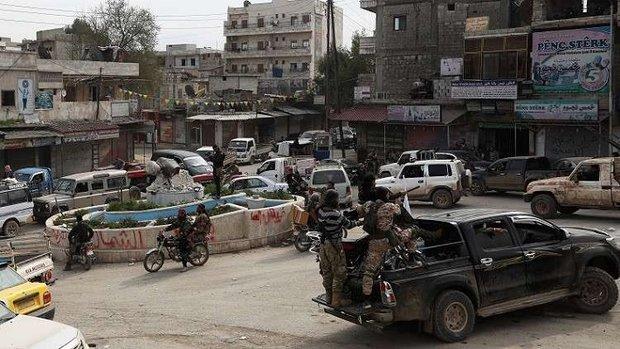 مقتل11 شخصا  بتفجير وسط عفرين