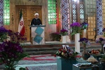 1396 the year of great Iranian nation's success in various fields :Rouhani