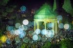 تحویل سال ۱۳۹۷ شمسی در حافظیه شیراز