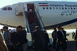 Pres. Rouhani arrives in Kermanshah province