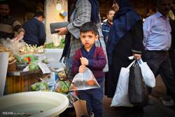 اجواء سوق ومدينة كركان الإيرانية عشية عيد النيروز