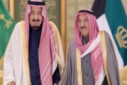 گفتگوی تلفنی امیر کویت و پادشاه عربستان