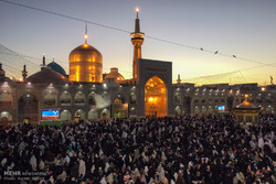 اجواء مرقد الامام الرضا (ع) خلال ایام النيروز