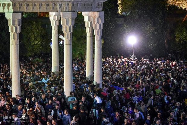 تحویل سال 1397 شمسی در حافظیه شیراز