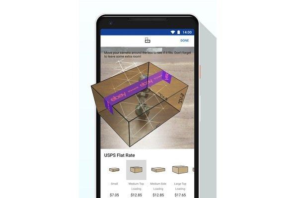 بستهبندی هوشمند کالا با برنامه واقعیت افزودهایبی