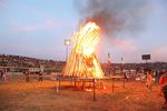 اجتماع ۱۵ هزار نفری سنندجی ها در مراسم و جشن شب نوروز