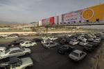 ترافیک نیمه سنگین در محور چالوس