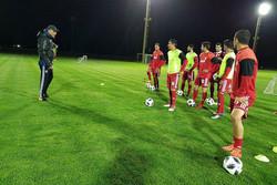 تشكيلة المنتخب الايراني لكرة القدم في مواجهة الجزائر
