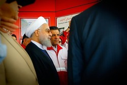 Pres. Rouhani promotes safe driving call
