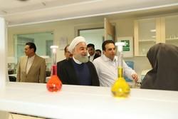 افتتاح خط إنتاج المواد الكيميائية الصلبة والمختبر المرجعي التابع لشركة طهران شيمي