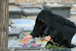 مراسم بدء السنة الفارسية الجديدة من مقبرة الشهيد المجهول في زنجان