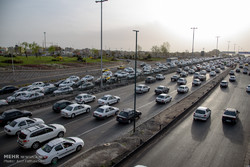 ترافیک سنگین در برخی جاده های زنجان حاکم است