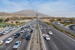 ترافیک نیمه سنگین در جاده های زنجان حاکم است