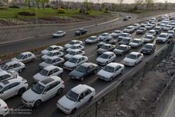 ترافیک از «بیلقان» تا کیلومتر ۴ نیمه سنگین است
