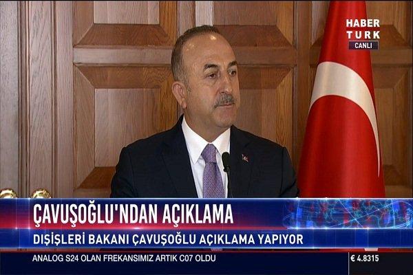 در واکنش به سخنان ماکرون: چاوشاوغلو: روابط ترکیه با روسیه قوی است