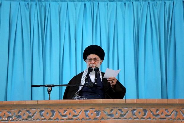 قائد الثورة الاسلامية: كلام ترامب مليء بالأكاذيب وهو يرتكب حماقة