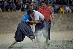 جشنواره بازیهای بومی- محلی در استان کرمانشاه برگزار شد