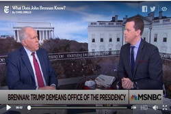 ترامپ از پوتین می ترسد؛ زیرا اطلاعات سری در دست او دارد