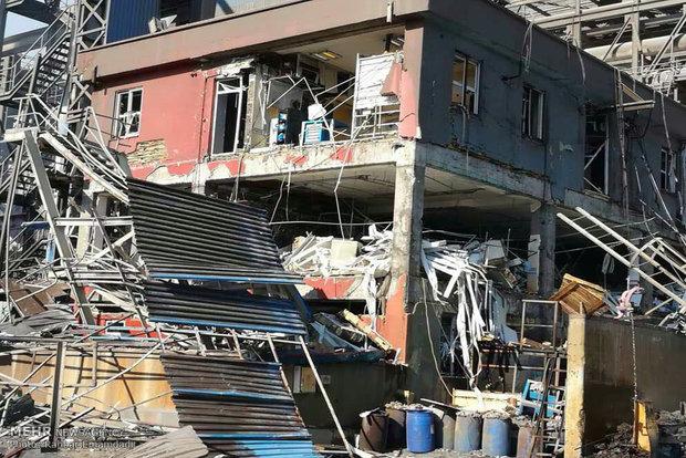 حادثه نشتی گاز شرکت فولاد هرمزگان