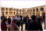 بزرگترین مسجد، مدرسه علمیه در قزوین میزبان گردشگران است