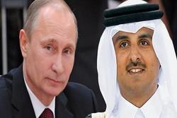 بوتين سيلتقي أمير قطر في موسكو آخر الشهر القادم