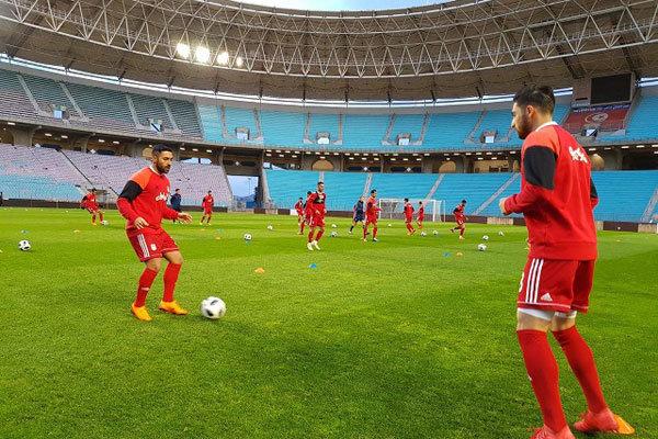 آخرین تمرین تیم ملی پیش از دیدار برابر تونس برگزار شد
