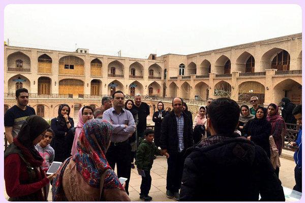 ورود گردشگران نوروزی به استان قزوین ۳۶ درصد افزایش یافت