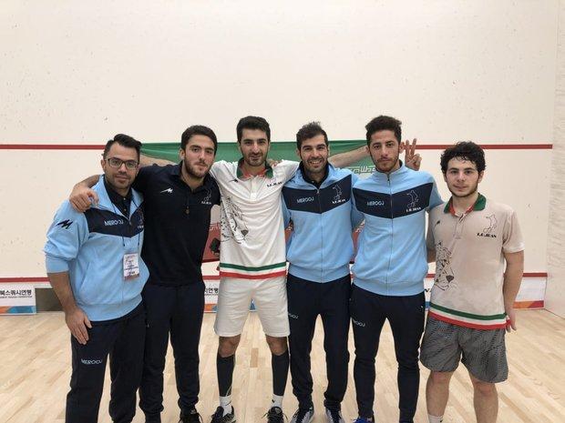 تاریخ سازی اسکواش ایران با صعود به مرحله نیمه نهایی قهرمانی آسیا