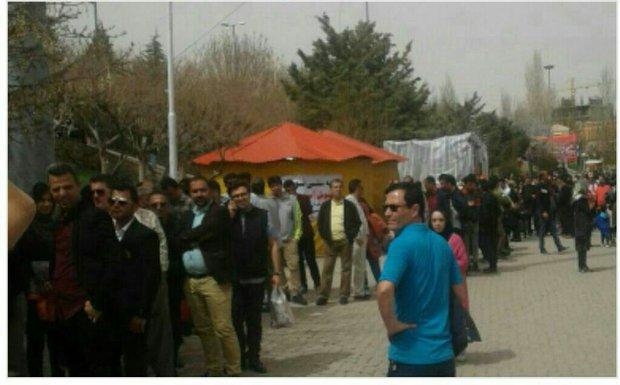 فلم/ ہمدان میں واقع غار علی صدر میں سیاحوں کی آمد