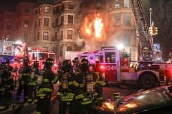 یک آتش نشان سر صحنه فیلمبرداری کشته شد