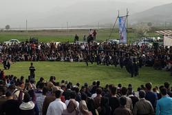 جشنواره بازی های بومی محلی جام نوروزی در مریوان برگزار شد