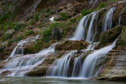 Nowruz tourists visit Bisheh Fall in Lorestan