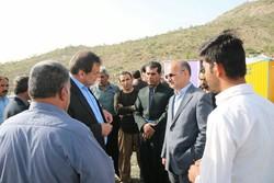 آغاز عملیات احداث ۳۰۰ واحد در روستاهای ثلاث باباجانی با کمک خیران