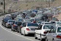 ترافیک محورهای گیلان