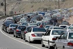 جاده هراز به سمت تهران یکطرفه شد
